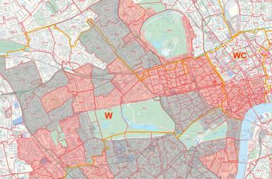 brexit property map london
