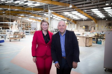 Golden Houses Developments Rt Hon Robert Halfon MP and Monika Slowikowska 2