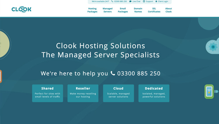 Clook hosting