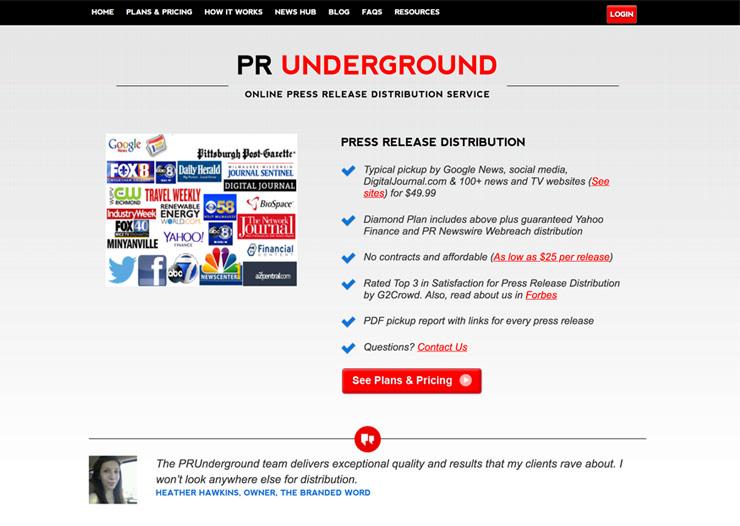pr underground