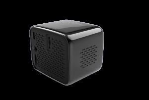 Back of the Philips PicoPix Nano Projector