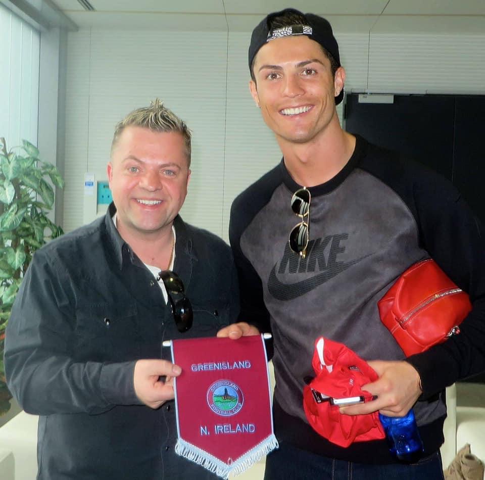 Keith Norris Cristiano Ronaldo