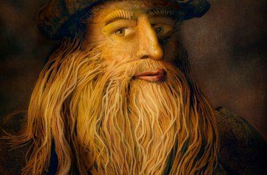 Leonardo da Vinci's famous self-portrait
